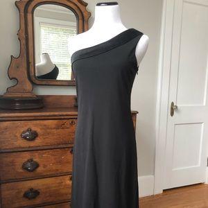 The Limited Black Stretch One-Shoulder Dress, S